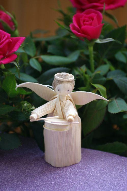 angel flowers cute