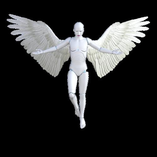 angel robot female