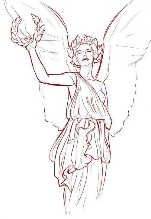 angel wings greek