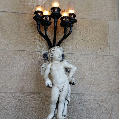 angel cherub statue