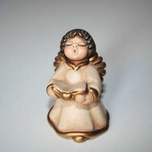 angel ornament singing
