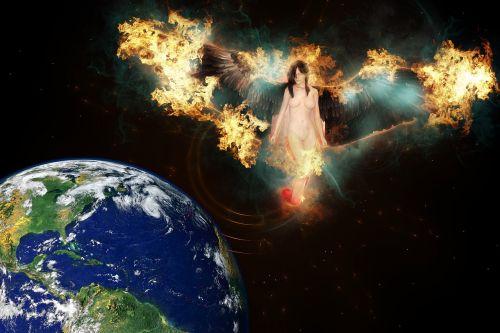angel heaven earth