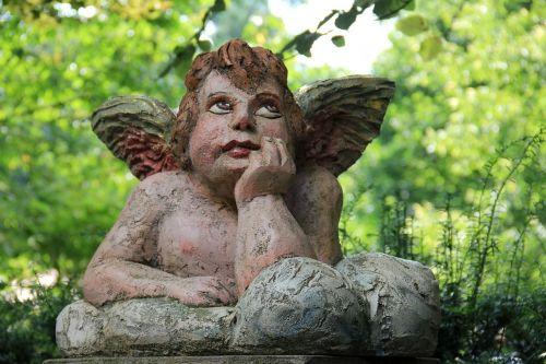 angel thoughtful thinking