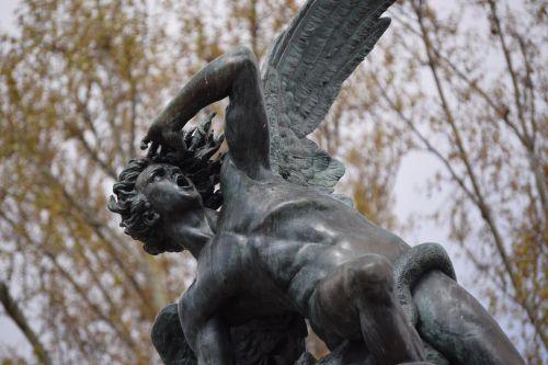 angel lucifer horrified