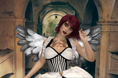 angel gothic darkness