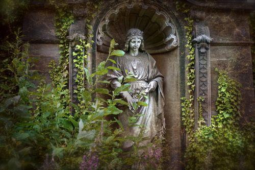 angel figure cemetery