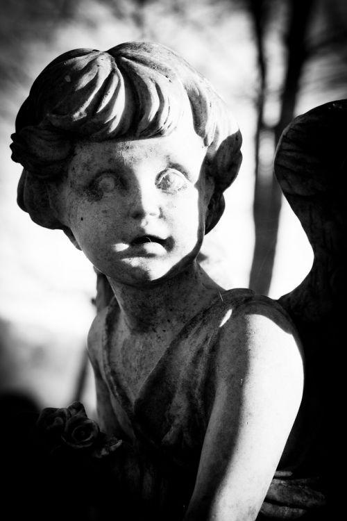 angel grave yard statue