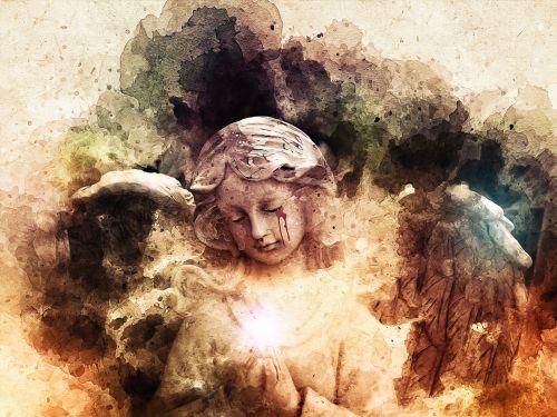 angelas,gotika,gotas,tamsi,ašaros,kraujo ašaros,angelo statula,statula,architektūra,religija,sparnai,fantazija,tamsi fantazija,rašalo purslai,spalvos purslai,tamsi svajonė