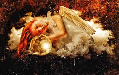 angel elf girl