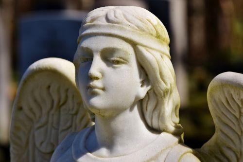angel angel figure sculpture