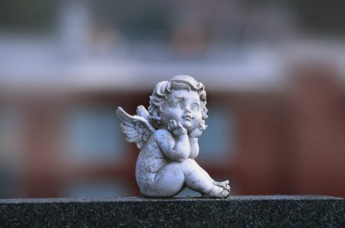 angel  statue  sadness