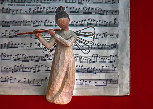 angel  music  figure