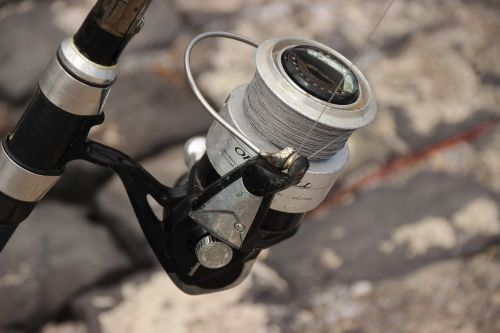 angel crank fishing rod