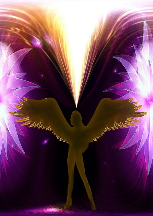 angel messenger wing