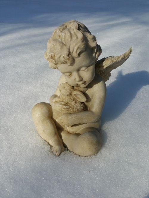 angel mourning thoughtful