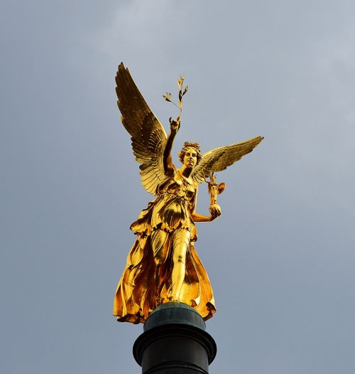 angel of peace gilded munich