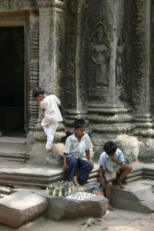 angkor kids cambodia