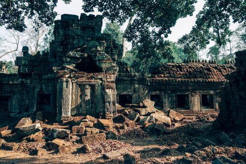 angkor antique archaeology