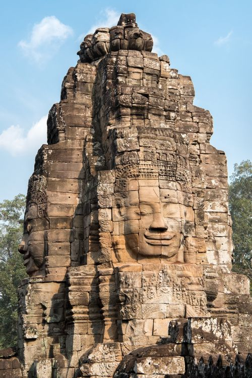 angkor wat bayon temple ancient