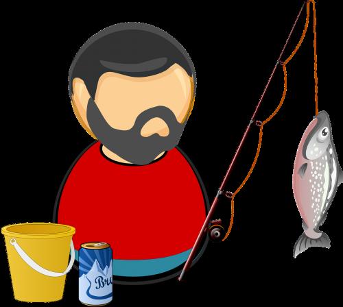 angler bait beer