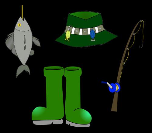 angler  fishing rod  fishing