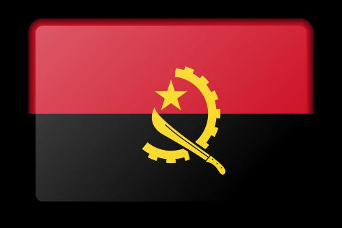 angola banner decoration