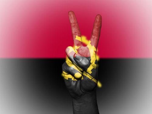 angola flag peace
