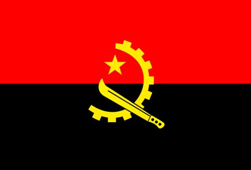 angola flag national