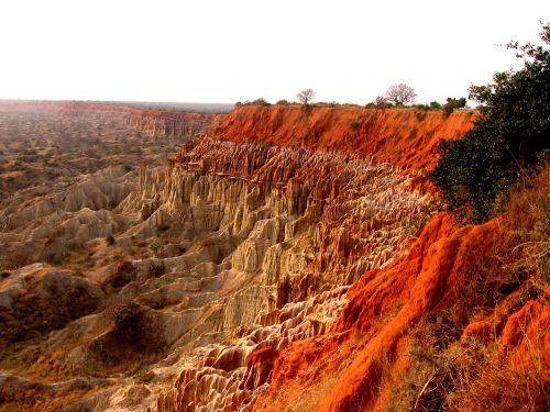 angola mountains landscape