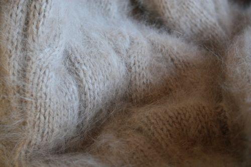 angora knit wool