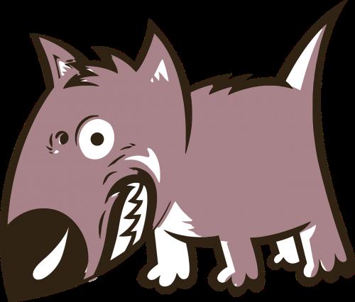 angry animal canine
