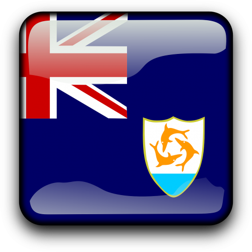 anguilla flag country