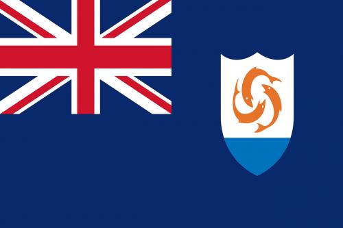 anguilla flag national flag
