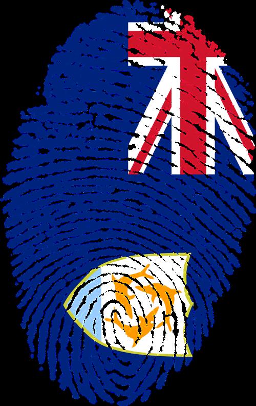anguilla flag fingerprint