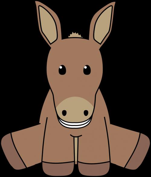 animal barnyard donkey