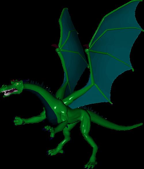 animal dragon fictional
