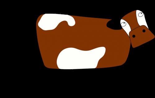 animal cartoon cow