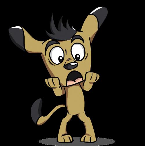 animal canine cartoon