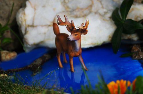 animal toy still life