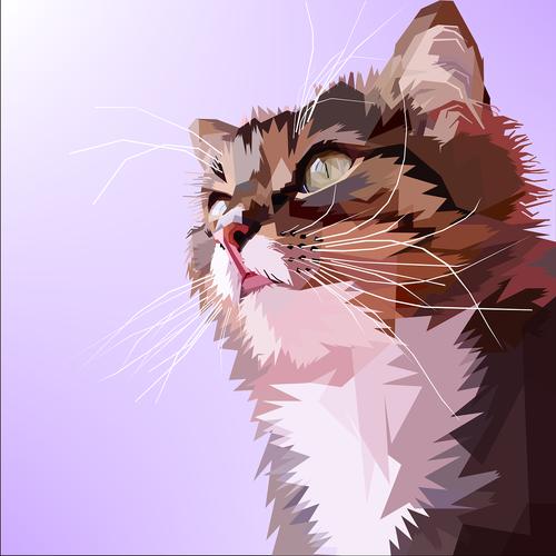 animal  cat  design