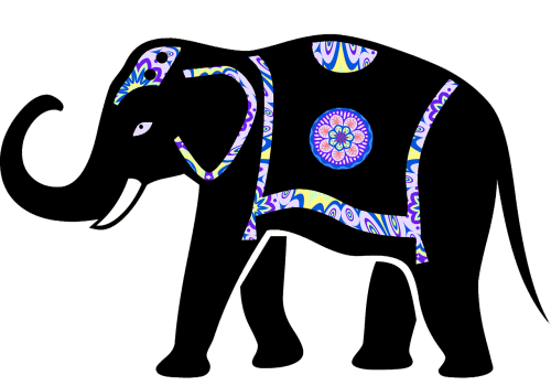 animal elephant elephant vector