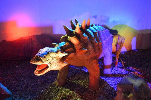 dinozauras,gyvūnas,istorija,neoninės šviesos,figūra,eksponatas