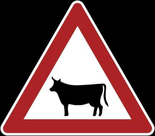 animals danger warning