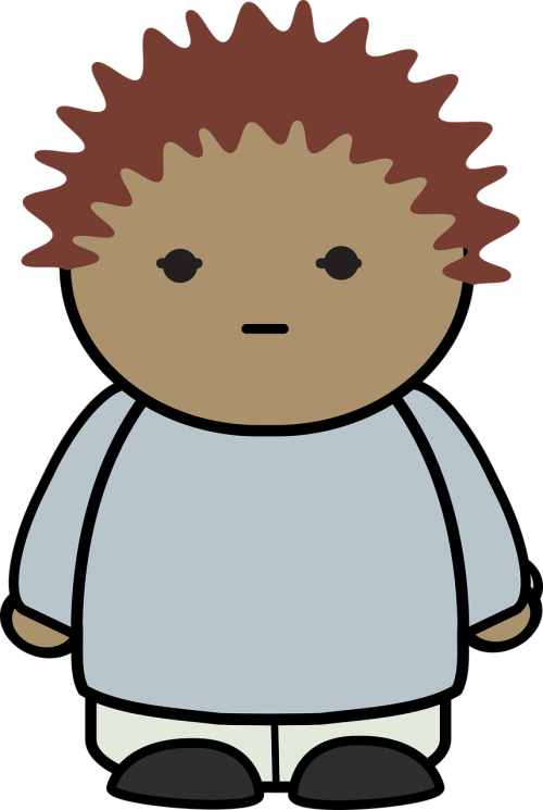animation blink boy