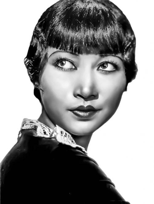 anna may wong vintage asian female hollywood actress