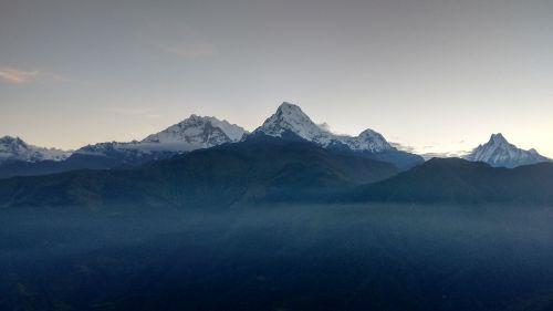 annapurna range landscape