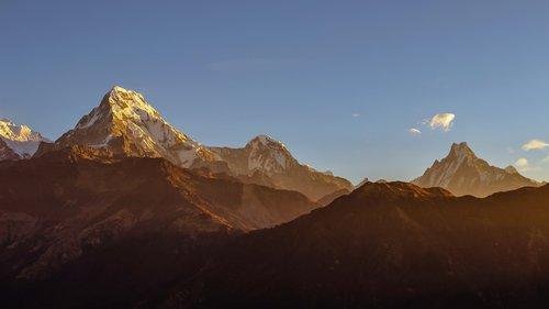 annapurna  himalayas  travel