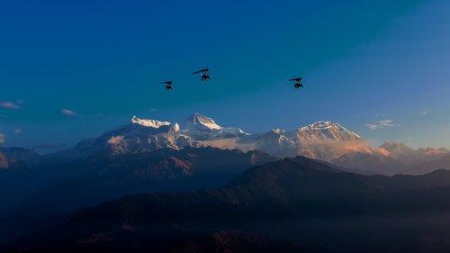 annapurna  mountain  himalayas