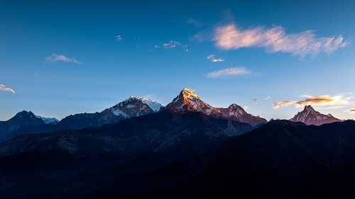 annapurna  himalayas  range