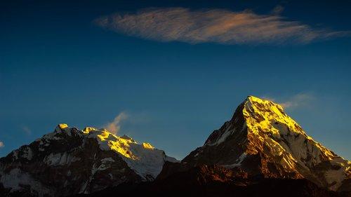 annapurna  himalayas  mountain